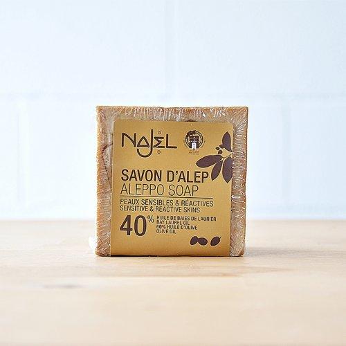 Jabón de Alepo 40% Laurel Najel
