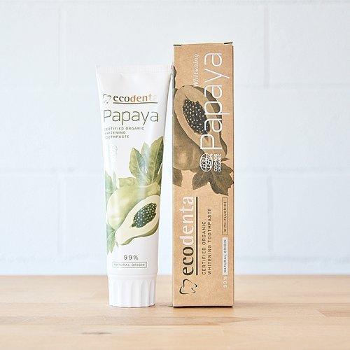 Pasta dental blanqueadora de Papaya 100ml Ecodenta