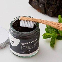 Blanqueador Dental en polvo con Carbón Activo y Naranja Georganics 120 ml
