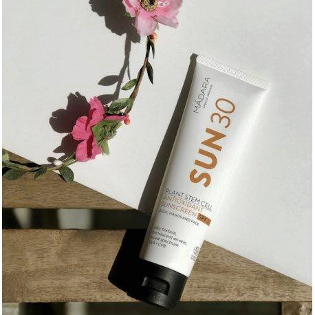 Protector Solar Corporal Antioxidante SPF30 Mádara