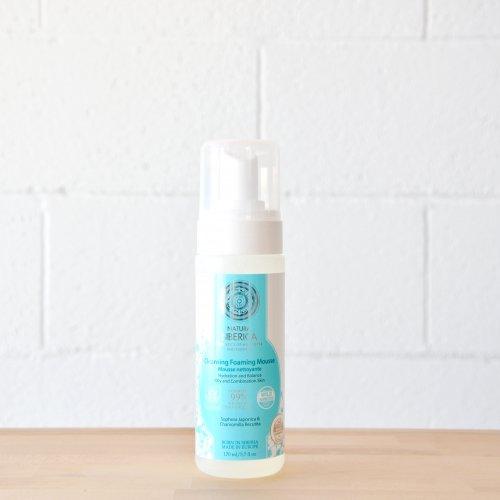 Mousse limpiador espumoso para piel grasa o mixta, hidratación y equilibrio 150ml Natura Siberica