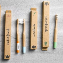 Cepillos de Dientes Infantil de Bambú Naturbrush