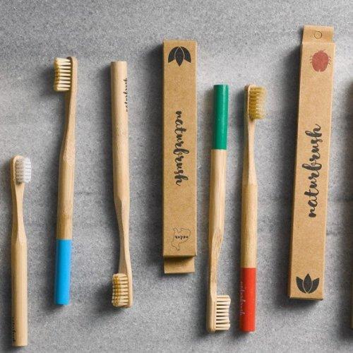 Cepillos de Dientes de Bambú Adulto Naturbrush