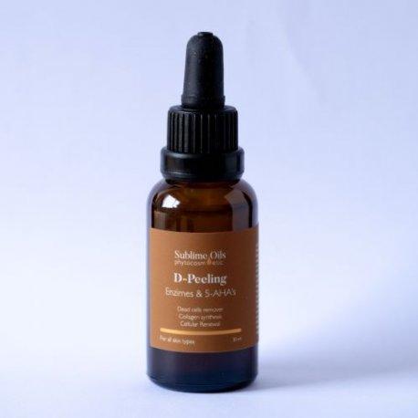D-Peeling Exfoliante Enzimático + 5 AHA's Sublime Oils