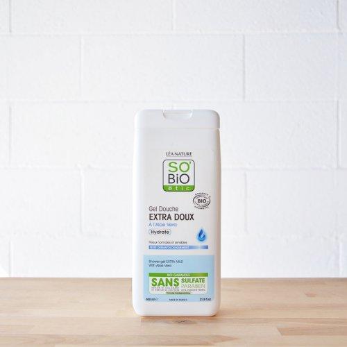 Jabon baño extra suave So' Bio Etic 650ml