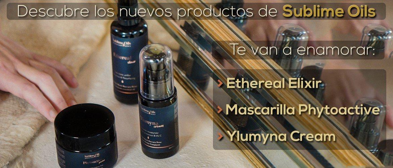 Sublime Oils - Lanzamiento 3 productos